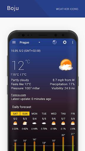Boju weather icons 1.00.06 screenshots 4