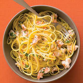 Shrimp, Lemon, and Parsley Pasta.