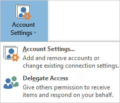 Delegate access in 2016 version