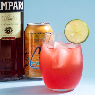 Citrus Spritzer (Easy LaCroix Tangerine and Campari Cocktail) Recipe