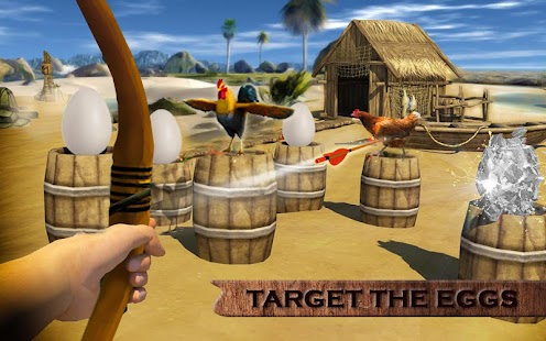Chicken Shooter Hunting : Archery Games - Android Apps on
