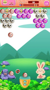Funny Bunny Bubble Shooter - náhled