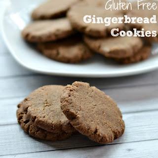 Gluten Free Gingerbread Cookies.