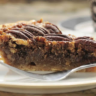 Maple and Brown Sugar Pecan Pie.
