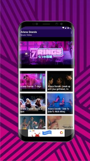 7 rings music video download