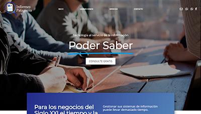 Sitio web Informes Patagonia