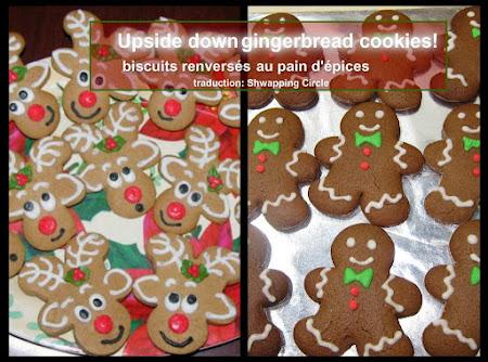 Upside Down Gingerbread Reindeers!! Recipe