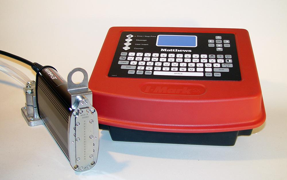 Блок управления SX-32e и печатающая головка Matthews DOD 8000+