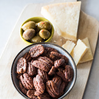 The BEST Candied Pecans.
