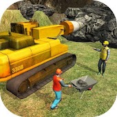 Railroad Crossing Train Tunnel Construction Game