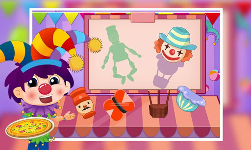 搞笑小丑疯狂恶搞披萨制作