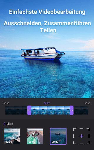 Video Maker von Fotos mit Music & Video Editor screenshot 1