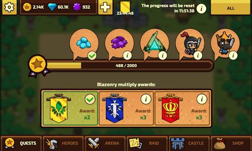 Raid Heroes: Total War apkpoly screenshots 14