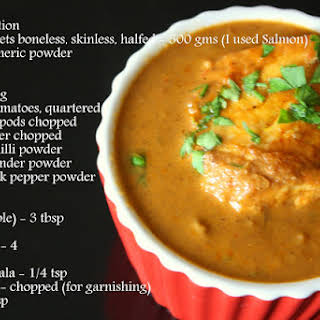 Tomato Fish Curry | NO coconut NO tamarind fish Curry Recipe | Creamy Indian Fish Curry.