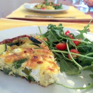 Asparagus And Zucchini Frittata Recipes