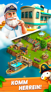 Funky Bay – Farm & Adventure-Spiel Screenshot