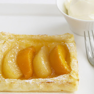 Peach and Pear Tarts.