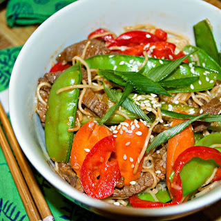 Mongolian Spicy Stir Fried Noodles