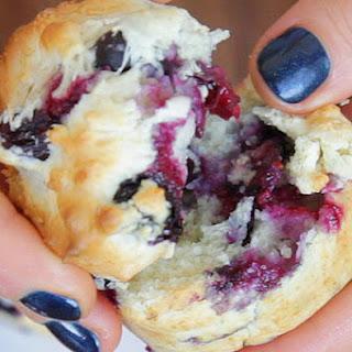 Ice Cream Blueberry Muffins.