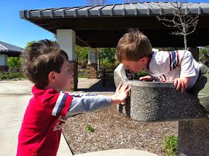 Photo: Brotherly Drinking Fountain