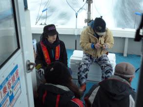 Photo: 今日は、近海ジギング! 釣れますように・・・。