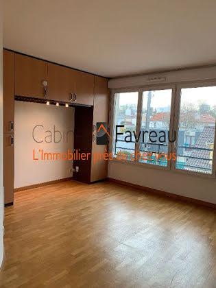 Location studio 25,35 m2