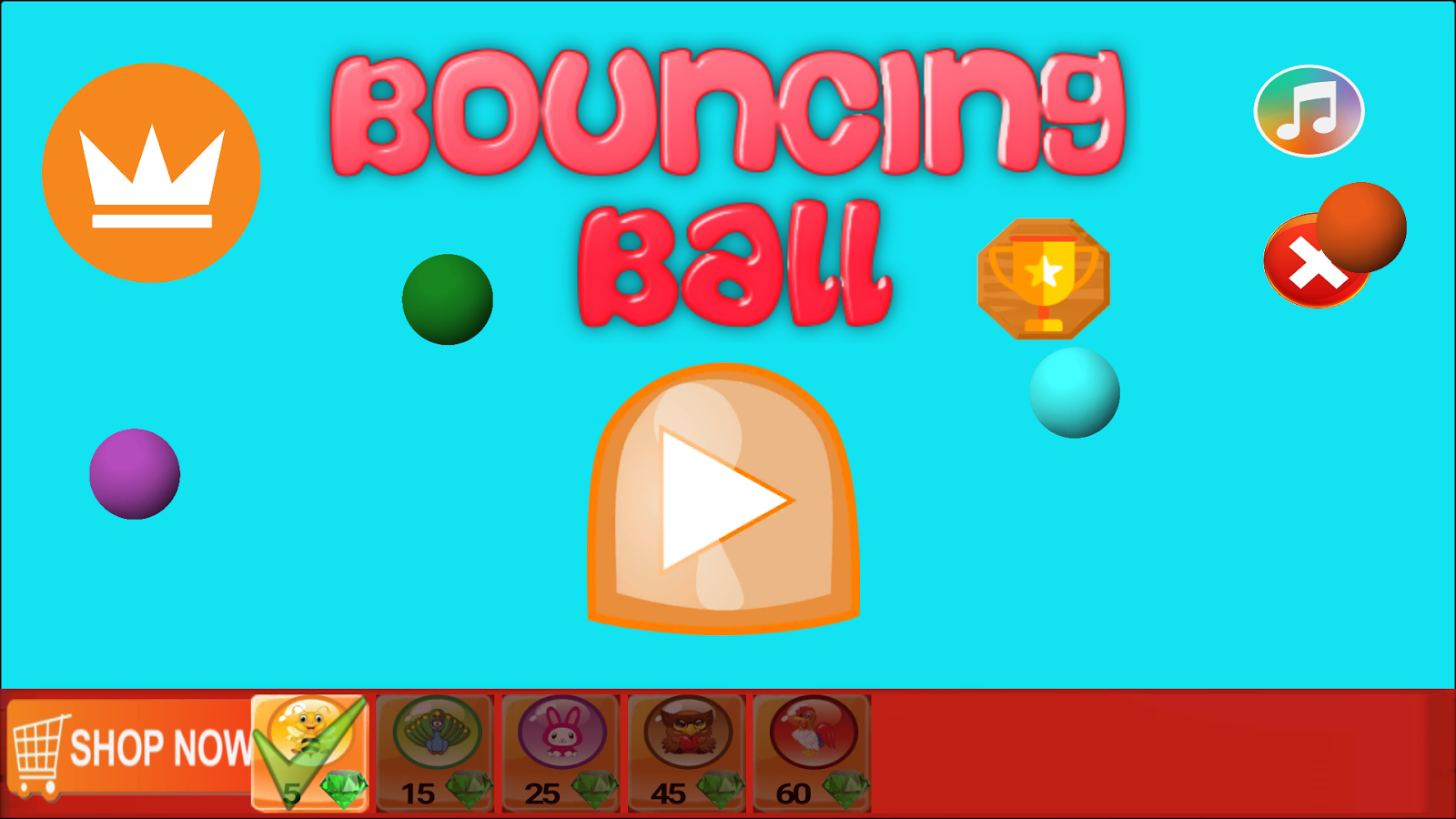 Bounce The Ball- screenshot
