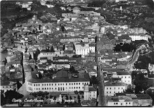 Photo: Veduta aerea sul centro storico. Anni '60.