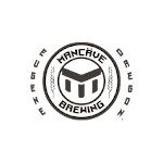 Logo for Mancave Brewing Co.