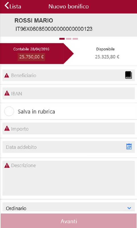 Banca di Asti- screenshot