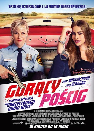 Polski plakat filmu 'Gorący Pościg'