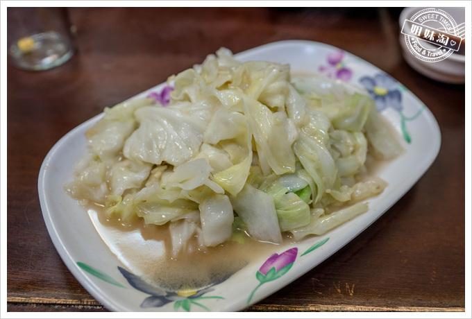 三味食堂高麗菜