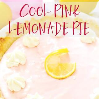 Cool Pink Lemonade Pie.