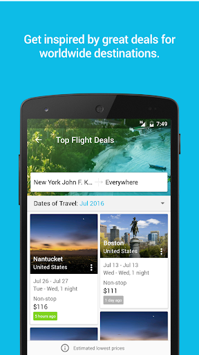 Skyscanner Flights, Hotel, Car app (apk) free download for Android/PC/Windows screenshot