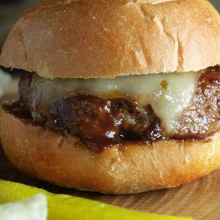 Cherry Bourbon Burgers.