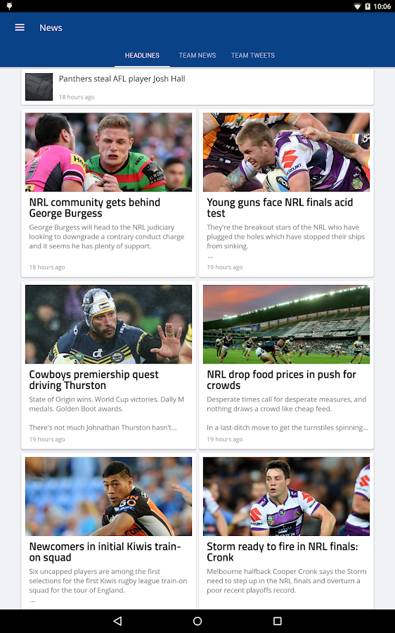 Rugby League Live- screenshot