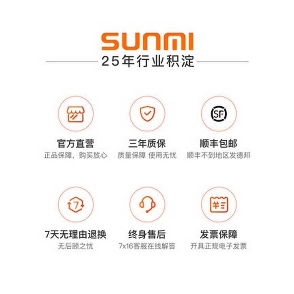 SUNMI 商米V2 PRO一體機