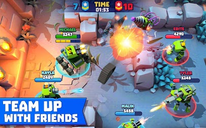 Tanks A Lot! - Realtime Multiplayer Battle Arena APK screenshot thumbnail 19
