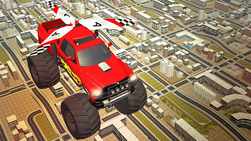 Flying Truck Pilot Driving 3D screenshots 2