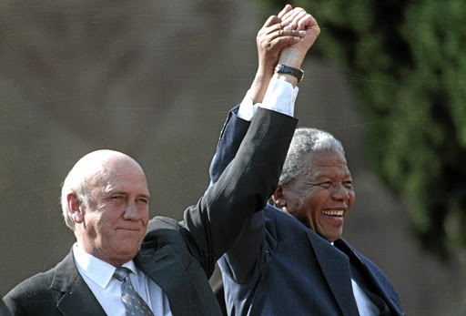 Black people are seeing apology from De Klerk where there is none