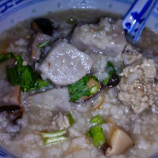 Tasty Yam/Taro Porridge