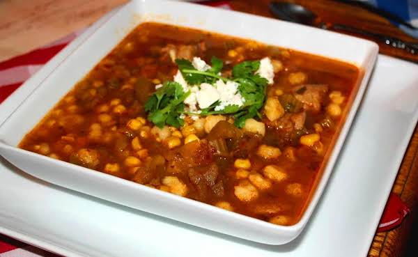 Pork And Green Chile Posole Recipe