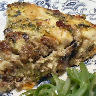 CHICKEN AND STUFFING QUICHE