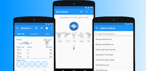 5x5 Workout Logger - Apps on Google Play