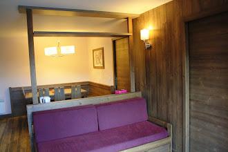 Photo: Salon et salle à manger