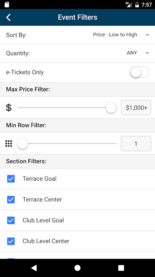 SeatHound: Ticket Search- screenshot
