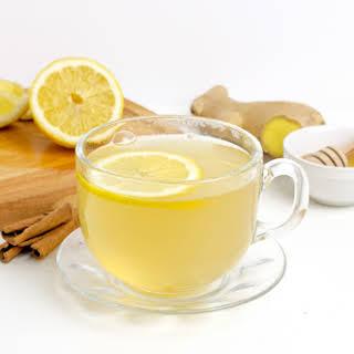 Lemongrass Ginger Tea with Cinnamon.