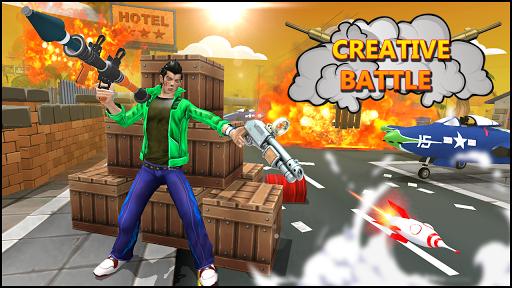 Télécharger bataille créative: champs de bataille de tir APK MOD (Astuce) screenshots 1
