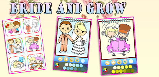 Bride And Groom Wedding Coloring Pages Google Play Də