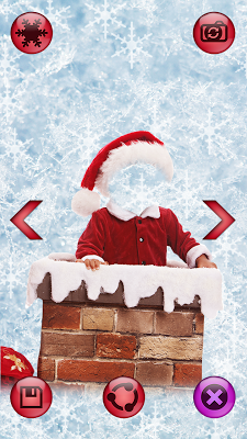 Santa Claus Photo Montage - screenshot